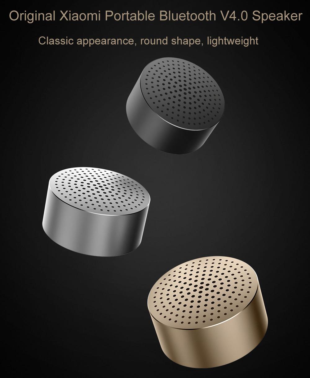 Przenośny głośnik od Xiaomi @ Gearbest