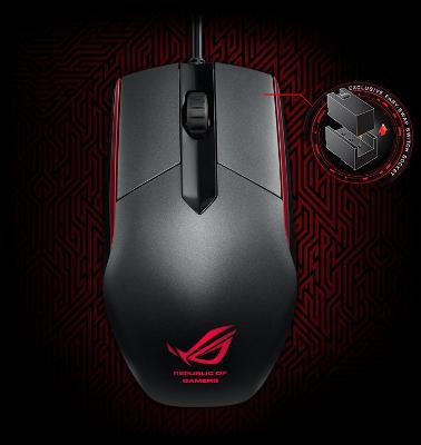 Mysz dla graczy Asus ROG Sica za 99zł @ Komputronik