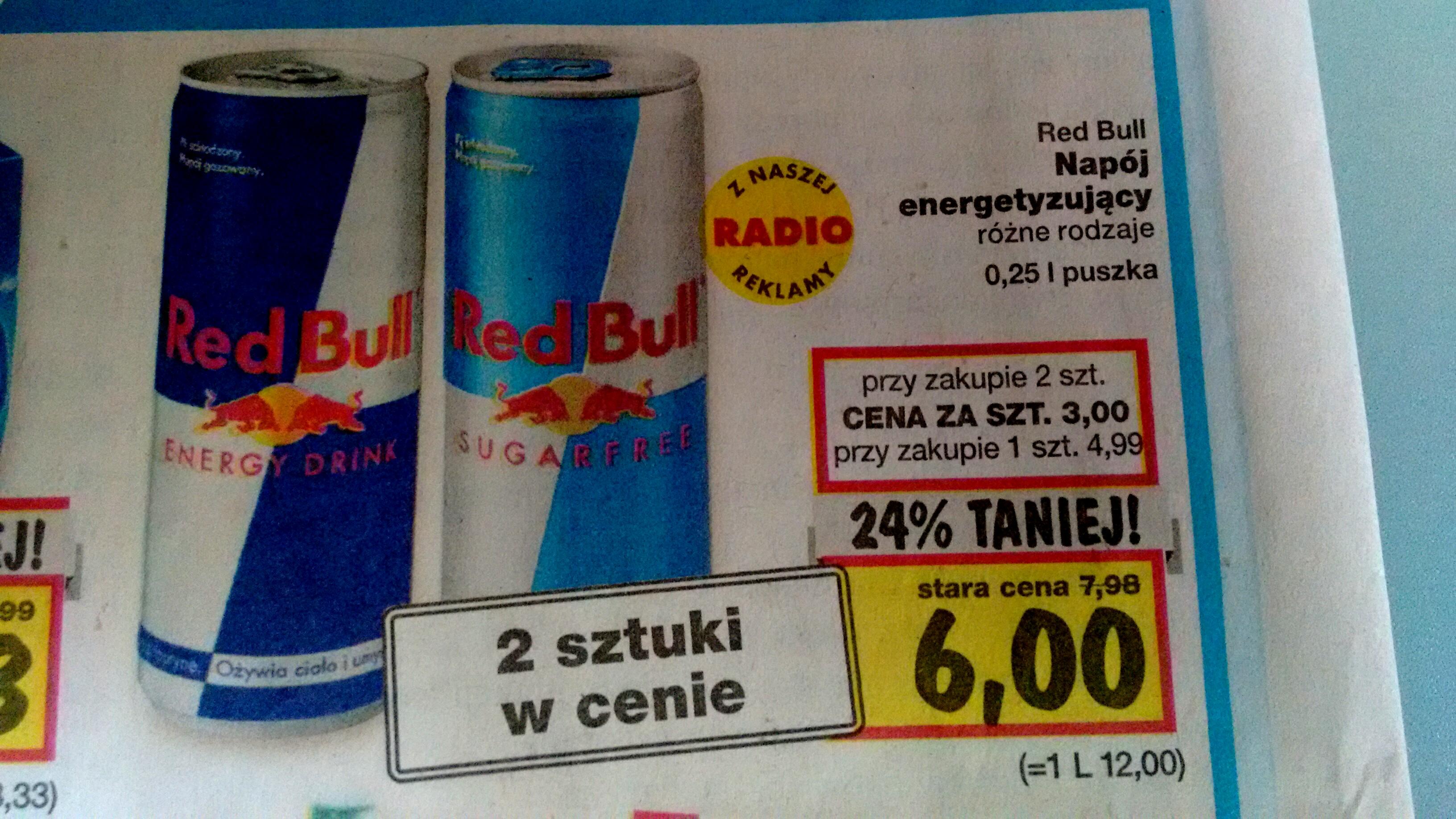Red Bull 0,25l.x2szt. @Kaufland