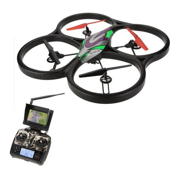Quadrocopter  WLToys V666 HD Camera + Monitor RTF@Wysyłka priorytetem z Niemiec