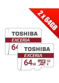 2 karty Toshiba Exceria 64GB @base.com