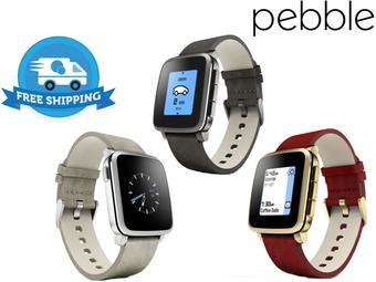 Smartwatch Pebble Time Steel – dla iOS oraz Androida (darmowa wysyłka)