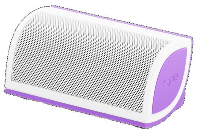 głośnik bezprzewodowy Nyne Mini fioletowy @Komputronik