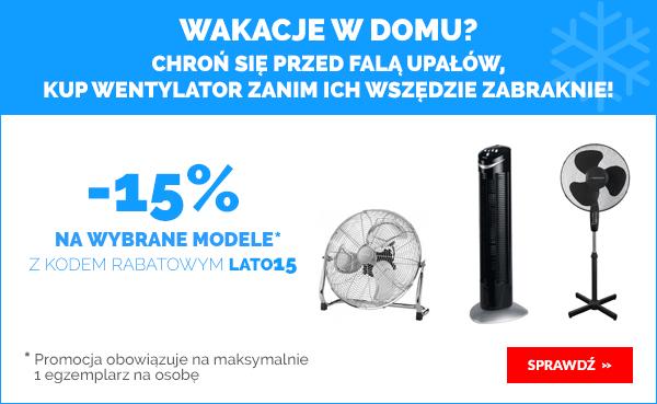 -15% na wybrane wentylatory @ Morele.net