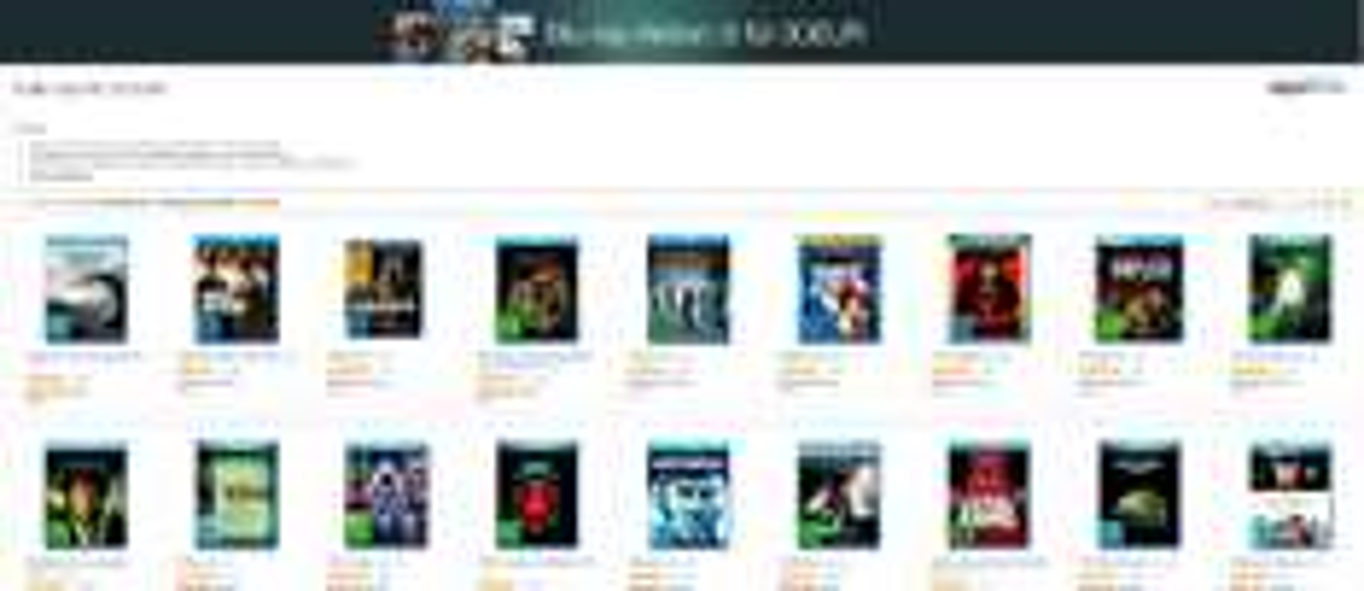 6 filmów na Blu-Ray za ~134zł (30€) z dostawą @ Amazon.de