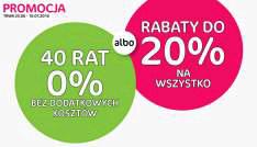 Agata meble do -20% na wszystko lub 40 rat 0%