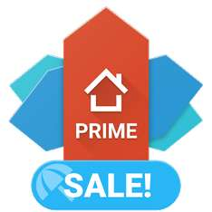 Aplikacje na ANDROIDA w promo cenach 1,79 - 1,99 zł (np. Nova launcher prime )