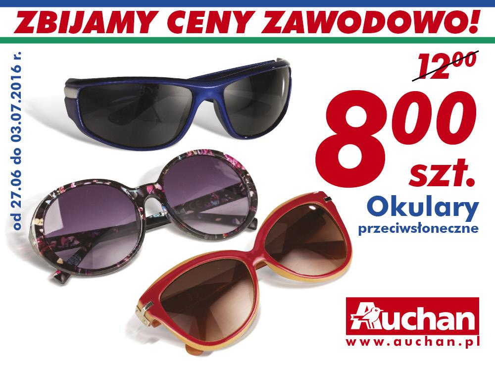 Okulary przeciwsłoneczne @ Auchan