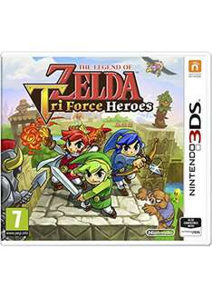 The Legend Of Zelda Tri Force Heroes [Nintendo 3DS] za 88zł z dostawą @ Base.com