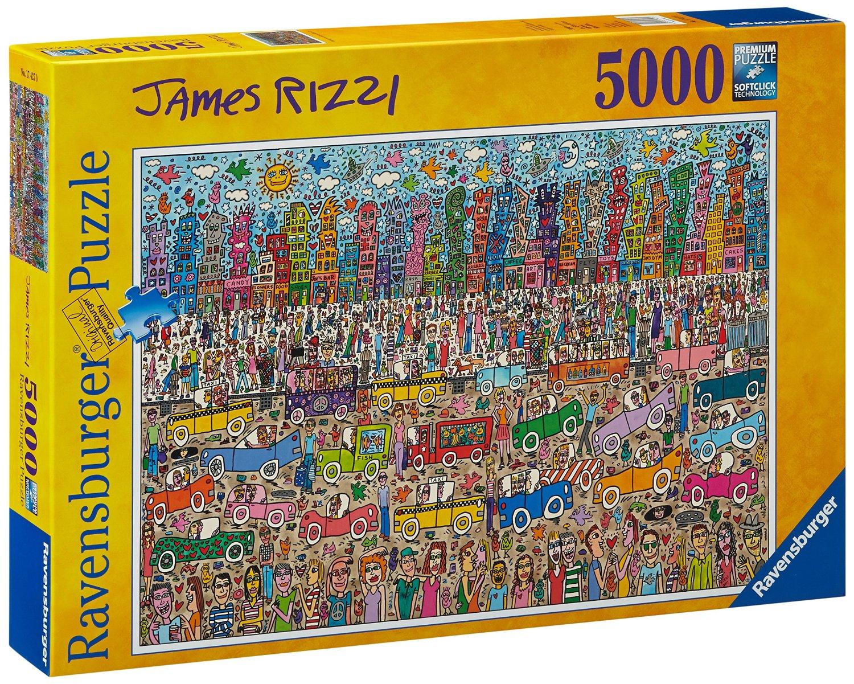 Puzzle Ravensburger 174270 Zatłoczone Miasto (5000 el.) za ok. 139zł @ Amazon.it
