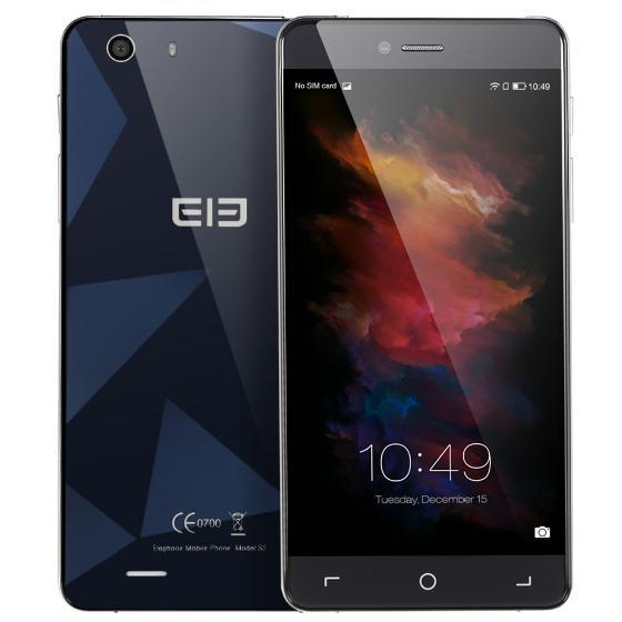 """Elephone S2  -""""szklany smartfon""""  MTK6735M 64-bit Quad Core 2GB Ram (Wysyłka z Niemiec)"""