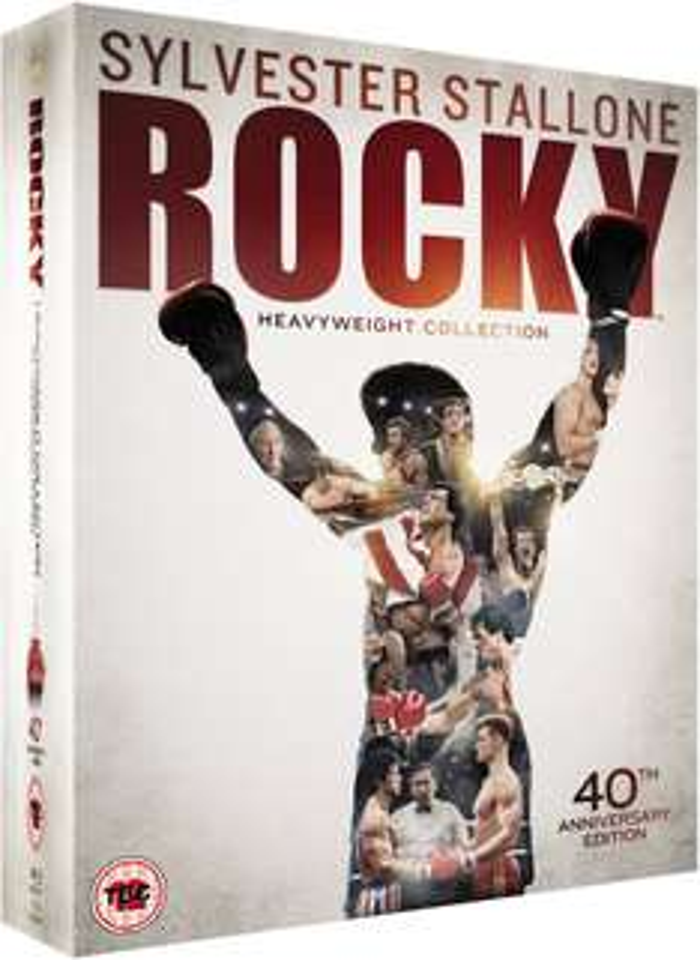 Rocky The Complete Saga (Blu-Ray) za ok. 70zł @ Zavvi