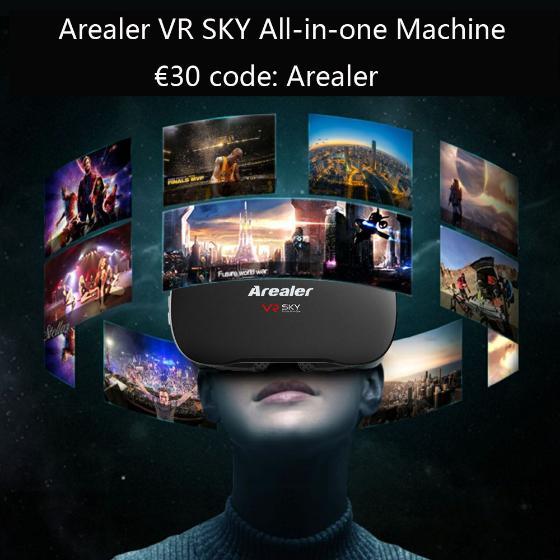 Okulary do wirtualnej rzeczywistości, 3D Glasses 1080p 5.5Inch TFT Display