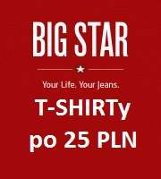T-SHIRTy w cenie 25 PLN - BIG STAR