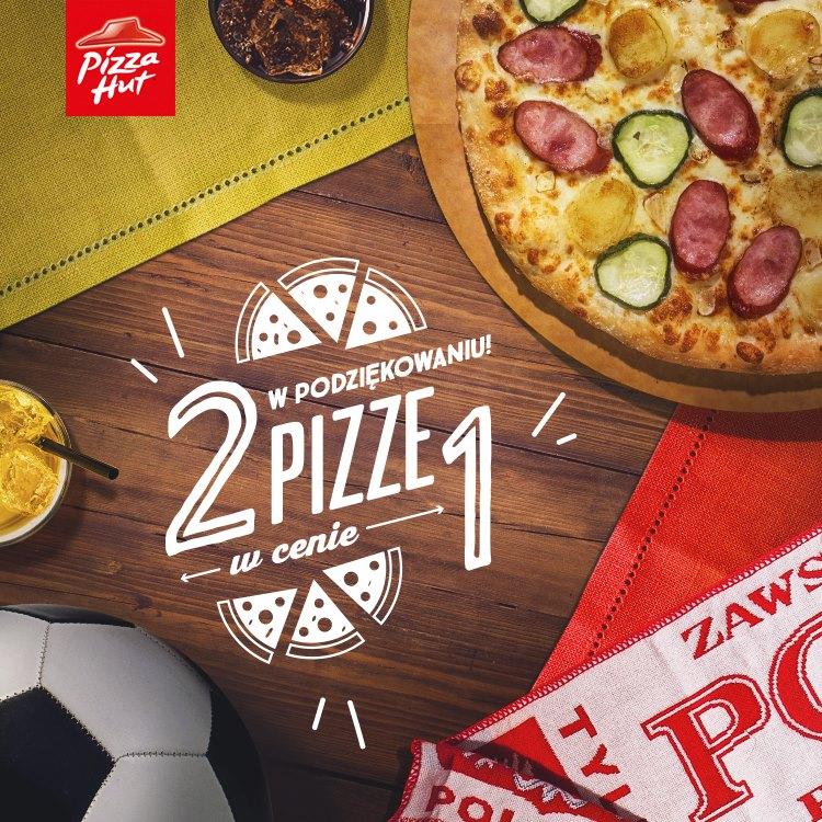 Dwie pizze w cenie jednej (DZIŚ) @ Pizza Hut