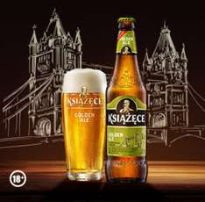 3 zł zwrotu przy zakupie piwa Książęce Golden Ale @ Żbik