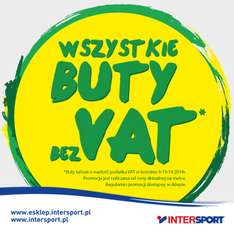 Buty bez VAT @ Intersport