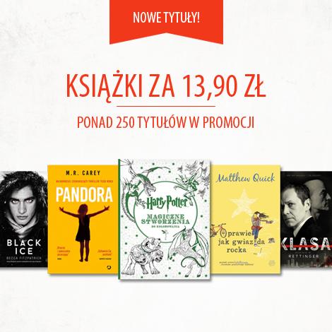 Książki po 13,90zł + darmowa dostawa @ Znak