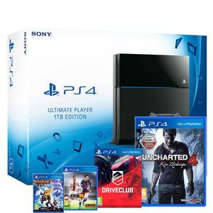 Playstation 1TB + Uncharted 4 + FIFA 16 + Driveclub + Ratchet & Clank za 1399zł @ Komputronik (Sosnowiec, 9.07)