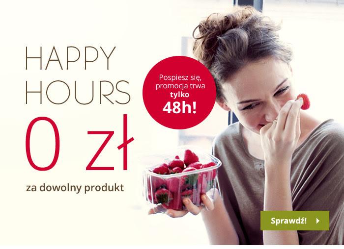 Happy Hours 0zł za dowolny produkt @ Yves Rocher