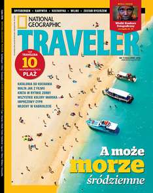 50% rabatu na roczną prenumeratę National Geographic Traveler