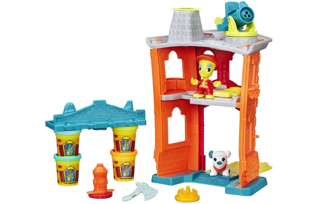 Play-Doh Town Remiza strażacka + figurka policjanta o wartości 19zł (darmowa dostawa) @ Satysfakcja.pl