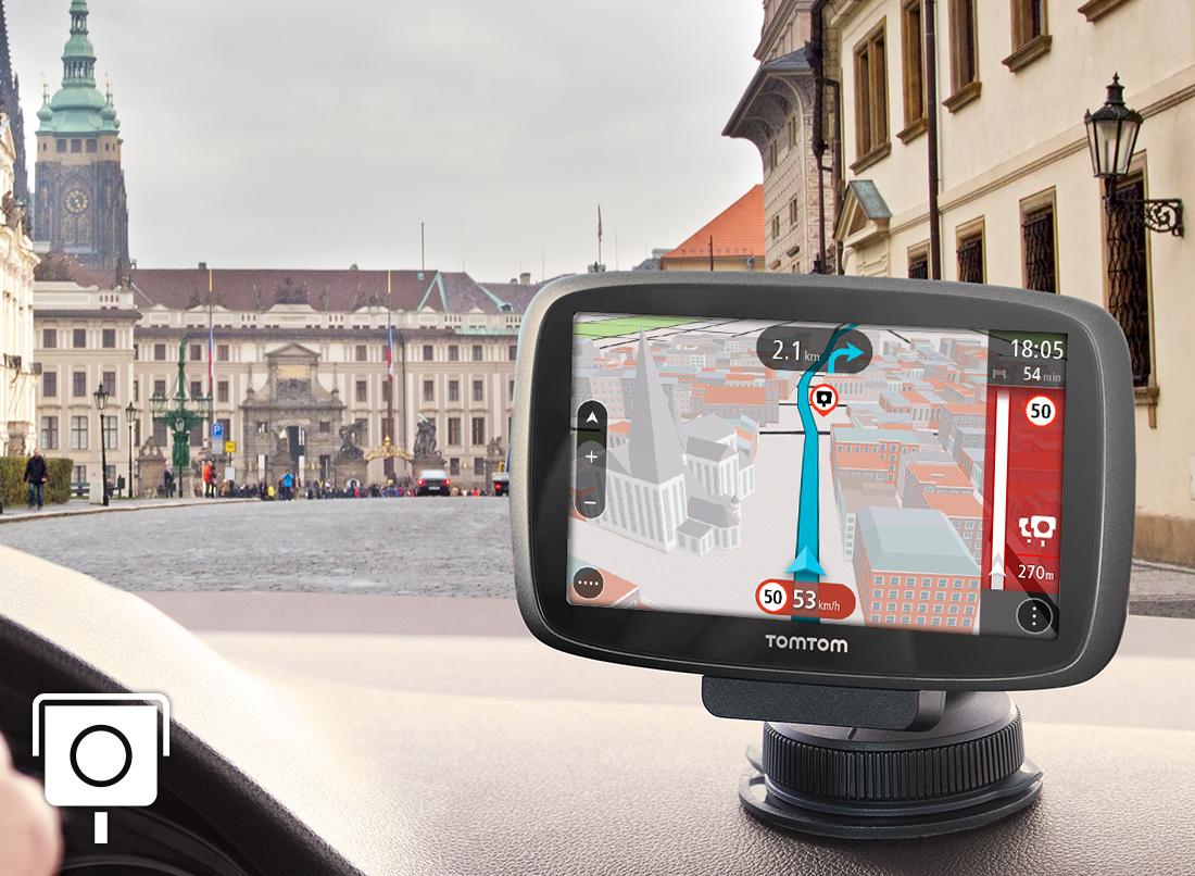 Roczna subskrypcja radarów w Europie na nawigacje tomtom @ tomtom