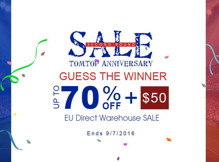 EU Direct Warenhouse SALE w TomTop - wątek zbiorczy