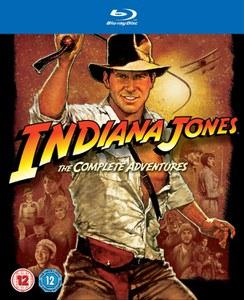 kolekcja Indiana Jones (4 filmy, Blu-Ray) za 82,50zł @ Zavvi