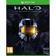 Halo MasterChief Collection Xbox ONE BOX