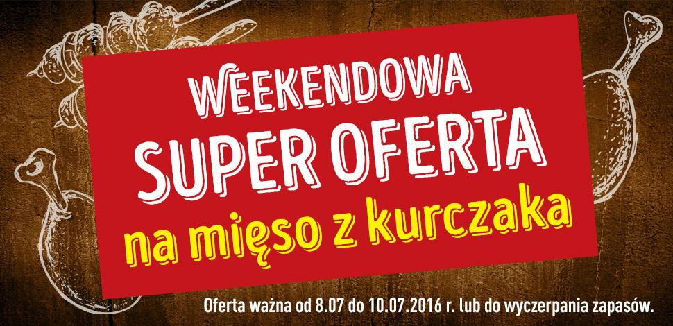 Weekendowa promocja na mięso z kurczaka (pierś z kurczaka za 9,99zł/kg, udko z kurczaka za 5,39zł/kg i inne) @ Biedronka