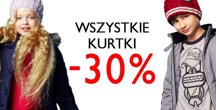 Wszystkie kurtki -30% @ 5.10.15