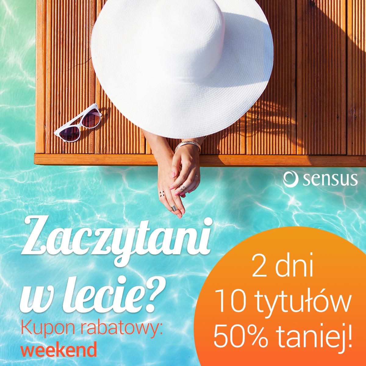 Tylko do dziś 10 tytułów 50% taniej @ Sensus.pl