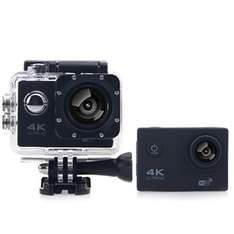 F60B 4K WiFi 170 Degree Wide Angle Action Camera  -  BLACK