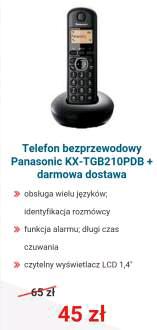 Telefon bezprzewodowy Panasonic @ morele.net