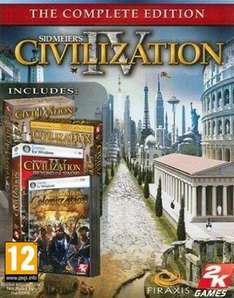 Sid Meier's Civilization IV: The Complete Edition (STEAM) za darmo @ Amazon.de (Prime)