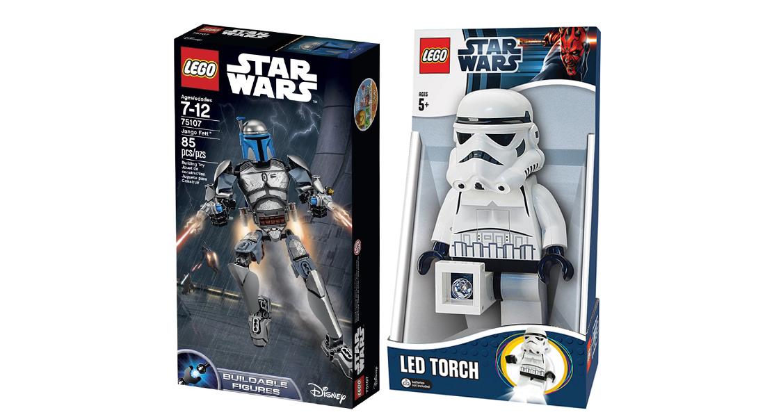 LEGO Star Wars: Lampka Stormtrooper + Jango Fett @ Satysfakcja.pl