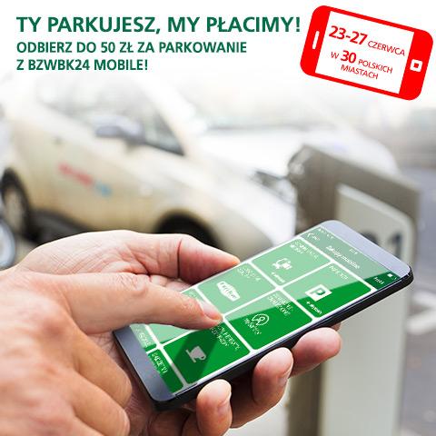 50 zł za parkowanie z BZWBK mobile
