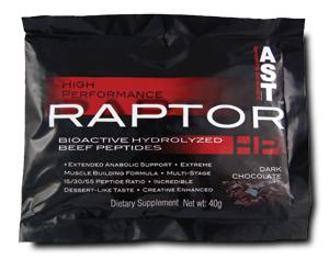 Darmowe próbki suplementów @ Raptor HP