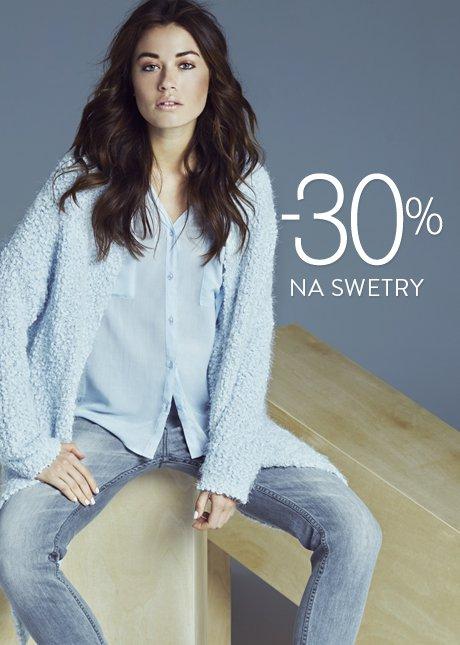 Tylko dziś -30% na swetry @ Top Secret