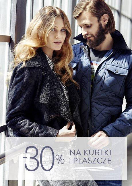 30% na kurtki i płaszcze @ Top Secret
