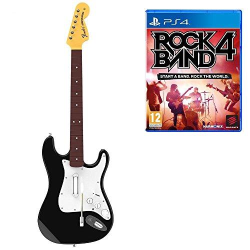 Rock Band 4 z gitarą bezprzewodową Fender Stratocaster [Playstation 4] za 206zł z dostawą @ Amazon.de