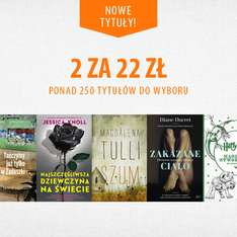 Dwie książki za 22zł @ Znak