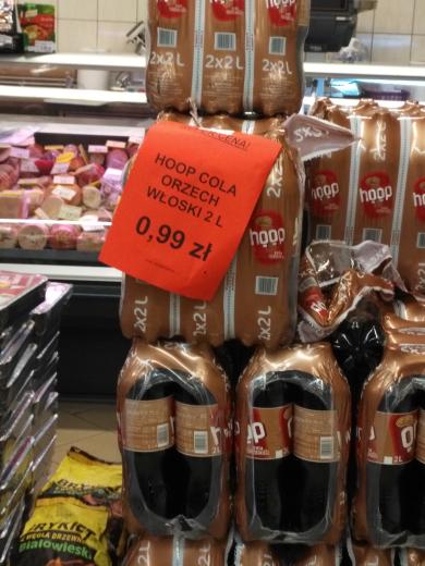 Hoop Cola Orzech włoski 2L 0,99 zł (Leviatan)