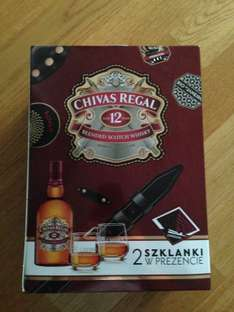 Chivas Regal 12 0,7L + 2 szklanki
