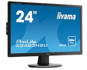 Monitor Iiyama X2483HSU-B2 (matryca AMVA, Full HD) za 599zł z dostawą @ Morele