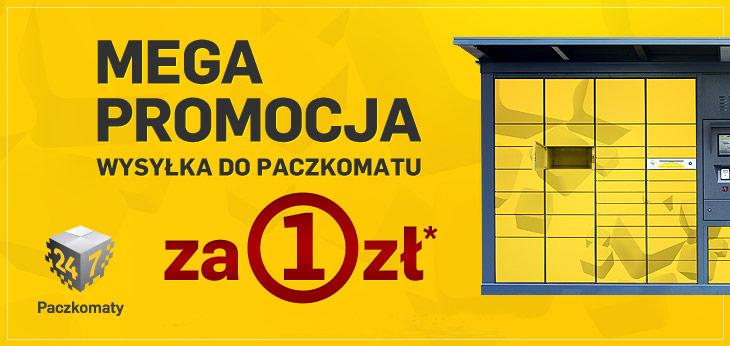 Wysyłka do paczkomatu za 1 zł (niezależnie od wartości zamówienia) do godziny 14.00 dzisiaj (19.07) @ Perfumy-Perfumeria