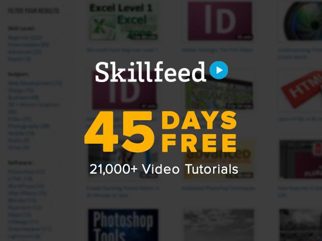 SkillFeed - daramowy dostęp przez 45 dni