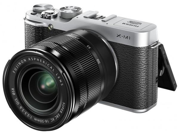 Aparat fotograficzny Fuji X-M1 z obiektywem 16-50 @Neonet