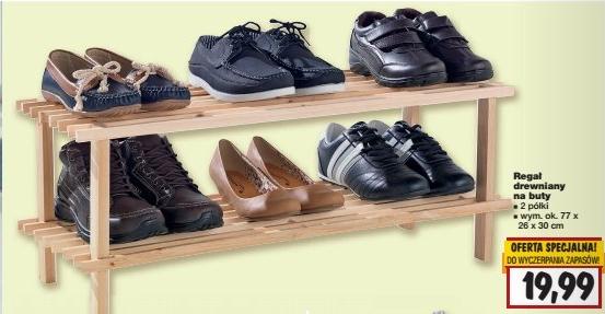 Regał na buty za 19,99zł lub 29,99zł @ Kaufland